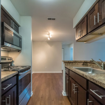 luxury middletown apartments kitchen